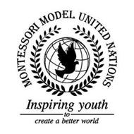MONTESSORI MODEL UNITED NATIONS INSPIRING YOUTH TO CREATE A BETTER WORLD