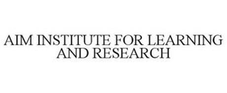 AIM INSTITUTE FOR LEARNING & RESEARCH