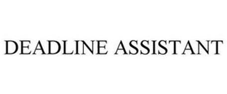 DEADLINE ASSISTANT