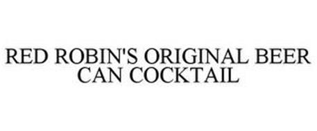 RED ROBIN'S ORIGINAL BEER CAN COCKTAIL