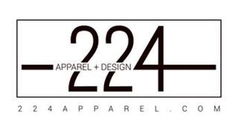 224 APPAREL+ DESIGN 224APPAREL.COM