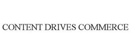 CONTENT DRIVES COMMERCE