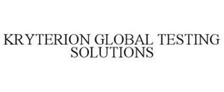 KRYTERION GLOBAL TESTING SOLUTIONS