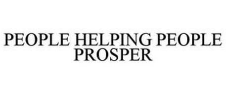 PEOPLE HELPING PEOPLE PROSPER