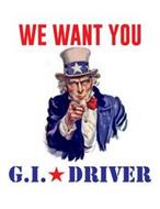 WE WANT YOU G.I. DRIVER