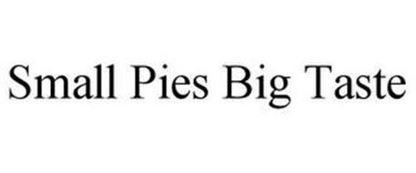 SMALL PIES BIG TASTE