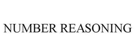 NUMBER REASONING