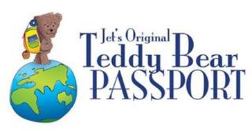 JET'S ORIGINAL TEDDY BEAR PASSPORT