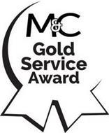M&C GOLD SERVICE AWARD