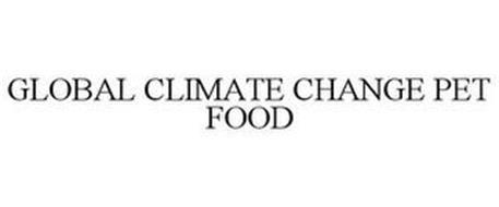 GLOBAL CLIMATE CHANGE PET FOOD