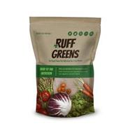 RUFF GREENS SO GOOD YOUR PET WILL ASK FOR IT BY NAME
