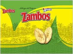 SALVAJES DEL TROPICO ZAMBOS ZAMBOS YUMMIES
