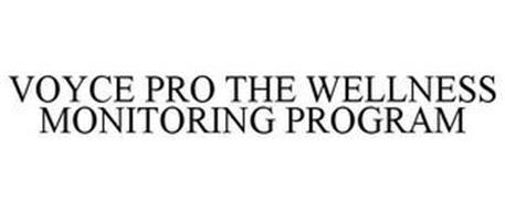 VOYCE PRO THE WELLNESS MONITORING PROGRAM