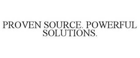 PROVEN SOURCE. POWERFUL SOLUTIONS.