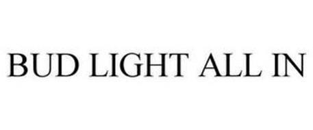 BUD LIGHT ALL IN