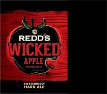 R REDD'S WICKED APPLE REFRESHINGLY HARD ALE REFRESHINGLY HARD ALE