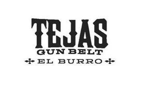 TEJAS GUN BELT EL BURRO