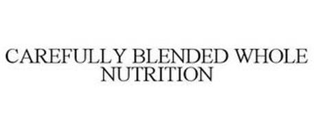 CAREFULLY BLENDED WHOLE NUTRITION