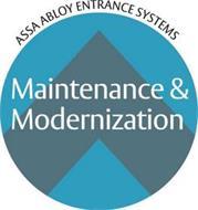 ASSA ABLOY ENTRANCE SYSTEMS MAINTENANCE & MODERNIZATION