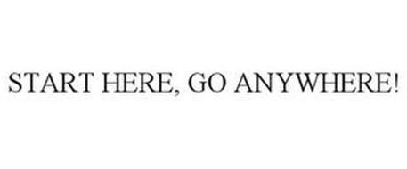 START HERE, GO ANYWHERE!