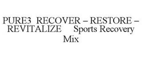 PURE3 RECOVER - RESTORE - REVITALIZE SPORTS RECOVERY MIX
