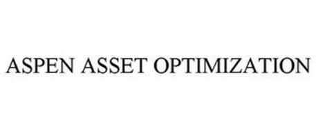ASPEN ASSET OPTIMIZATION