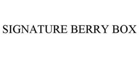 SIGNATURE BERRY BOX
