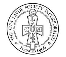 CUM LAUDE THE CVM LAVDE SOCIETY INCORPORATED FOUNDED 1906