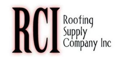 RCI ROOFING SUPPLY COMPANY INC.