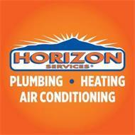 HORIZON SERVICES PLUMBING · HEATING AIR CONDITIONING