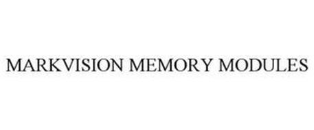 MARKVISION MEMORY MODULES
