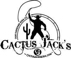 CJ CACTUS JACK'S OLDE FASHIONED SODA CO. CACTUSJACKSSODA.COM