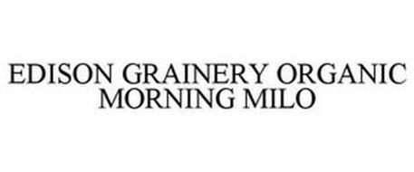 EDISON GRAINERY ORGANIC MORNING MILO