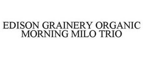 EDISON GRAINERY ORGANIC MORNING MILO TRIO