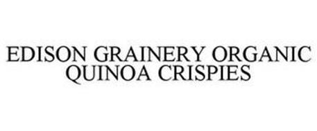 EDISON GRAINERY ORGANIC QUINOA CRISPIES