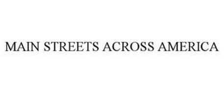 MAIN STREETS ACROSS AMERICA