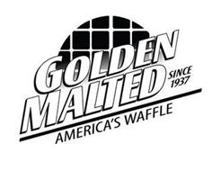 GOLDEN MALTED SINCE 1937 AMERICA'S WAFFLE