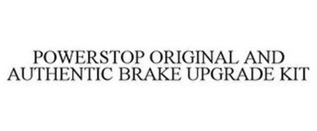 POWERSTOP ORIGINAL AND AUTHENTIC BRAKE UPGRADE KIT