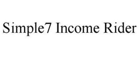 SIMPLE7 INCOME RIDER