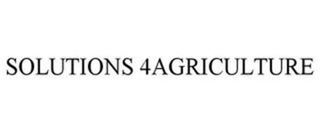 SOLUTIONS 4AGRICULTURE