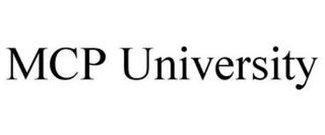 MCP UNIVERSITY
