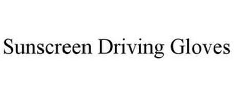 SUNSCREEN DRIVING GLOVES