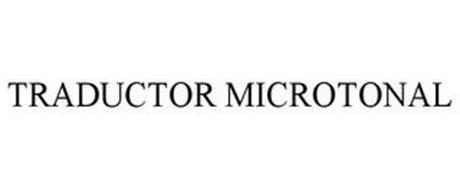 TRADUCTOR MICROTONAL
