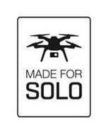 MADE FOR SOLO