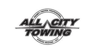 ALL CITY TOWING PROMPT. PROVEN. PROFESSIONAL. ACROSS ARIZONA 24/7