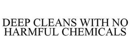 DEEP CLEANS WITH NO HARMFUL CHEMICALS