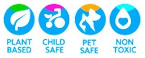 PLANT BASED CHILD SAFE PET SAFE NON TOXIC