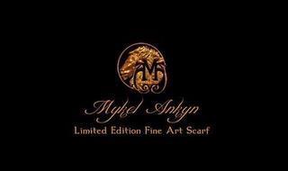 MA MYKEL ANKYN LIMITED EDITION FINE ART SCARF