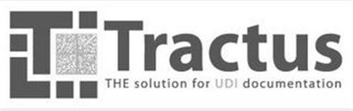 T TRACTUS THE SOLUTION FOR UDI DOCUMENTATION