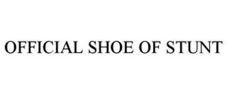 THE OFFICIAL SHOE OF STUNT